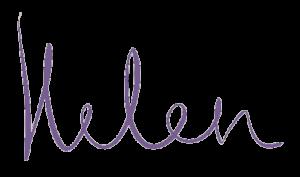 helen handtekening paars